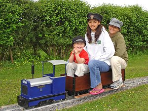 Visitors to the railway June 2005 to January 2006